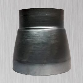 1-Piece Concentric Spun Reducer, metallic