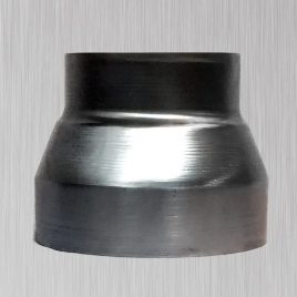 1-Piece Concentric Spun Reducer Short, metallic