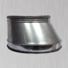 Fabricated Eccenteric Reducer, metallic