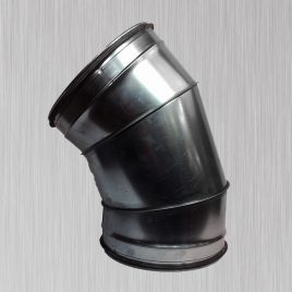 45 degree 3-piece 1.5 CLR Elbow with Gasket